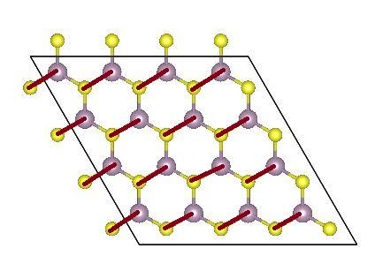 图7,单层MoS2的2H结构的基元