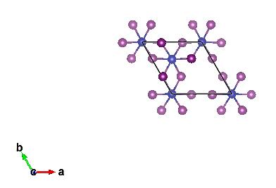 沿 c 方向,对应图 2 中的 a