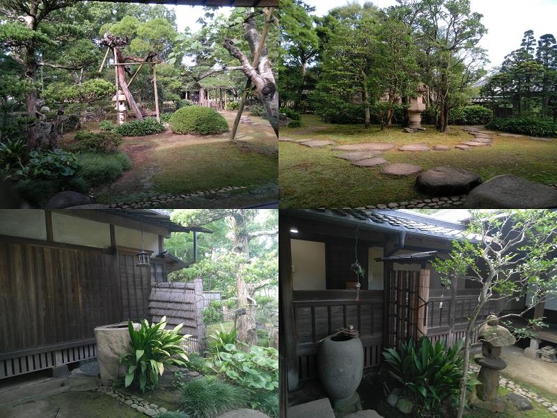 院内的花园
